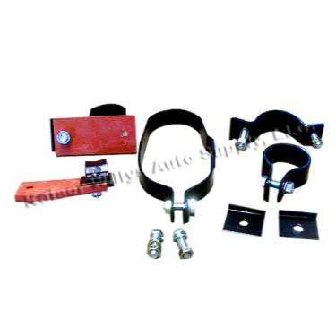 Exhaust System Clamp & Hanger Kit, 41-45 MB, GPW