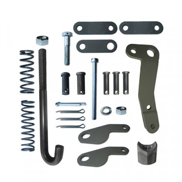 Emergency Brake Shoe Hardware Kit (external style) Fits 41-43 MB, GPW