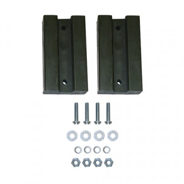 Rubber Spacer Block for Hood Kit, 41-45 Willys & Ford MB, GPW