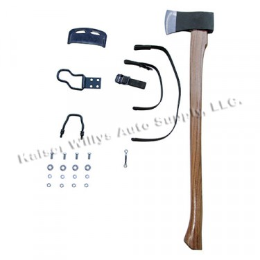 Complete Axe, Clamp & Strap Kit, 41-45 MB, GPW