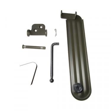 "Accelerator Pedal and Link Assembly in ""F"" Script Fits 41-45 GPW"
