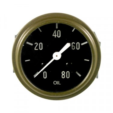 Instrument Panel Oil Gauge, 41-45 MB, GPW
