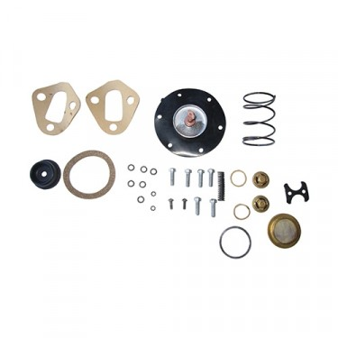 Fuel Pump Rebuild Kit, 41-71 Jeep & Willys with 4-134 engine