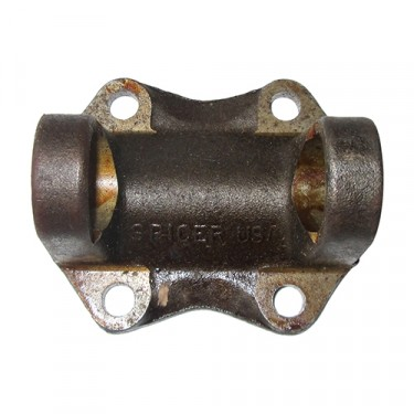 Rear Driveshaft Output Companion Flange Yoke, 42-71 Jeep & Willys with Dana 18 transfercase
