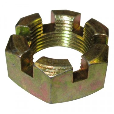 Transfercase Output Yoke Nut, 41-49 Jeep & Willys with Dana 18 transfercase