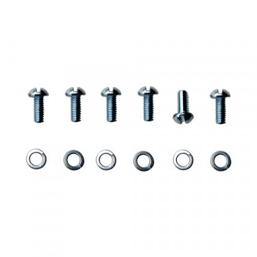 Sending Unit Round Head Screw Kit, 55-71 CJ-5, 6