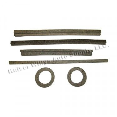 Fuel Tank Felt Insulator Kit (6 piece), 41-45 MB, GPW