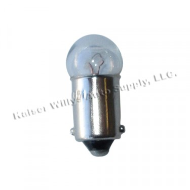 Instrument Dash Panel Light Bulb (6 volt) Fits : 41-45 MB, GPW