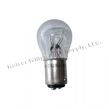 Rear Tail & Stop Light Bulb (6 volt, Dual Filament) Fits  46-71 Jeep & Willys