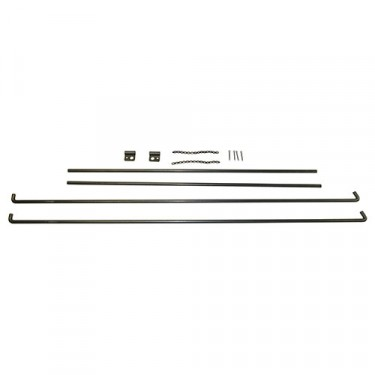 Top Bow Rod Kit, 52-66 M38A1