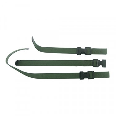 3 Piece Axe & Shovel Strap Set, 52-66 M38A1