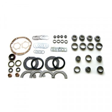 Front Axle Overhaul Kit Fits 66-75 CJ-5, Jeepster