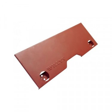 Rear Center Body Panel with Willys Stamping, 41-45 MB