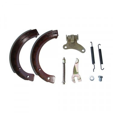 Emergency Brake Hardware Kit (Less Backing Plate), 42-71 Jeep & Willys