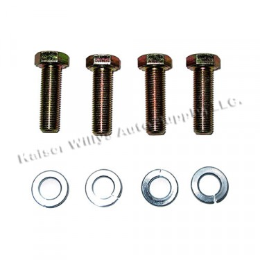 Piston Wrist Pin Lock Hardware Kit, 41-71 Jeep & Willys with 4-134 engine