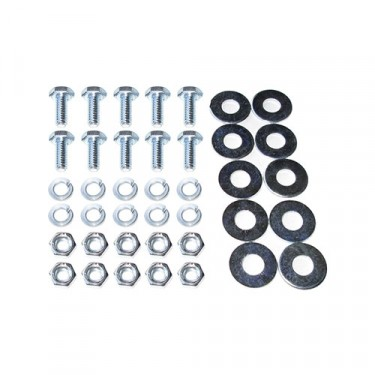 Air Cleaner to Bracket & Fender Hardware Kit, 46-53 Truck, Station Wagon with 4-134 engine