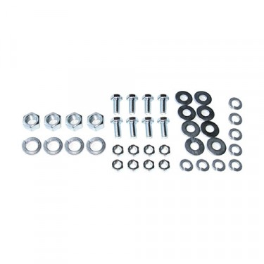Engine & Transmission Insulator Mount Hardware Kit, 46-49 Station Wagon with 4-134 L engine