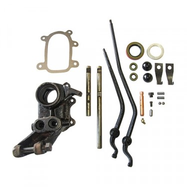 Single to Dual Stick Transfer Case Conversion Kit, 65-71 CJ-5 with D18 transfer case