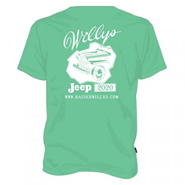 2020 Kaiser Willys T-Shirt Fits 41-71 Jeep & Willys