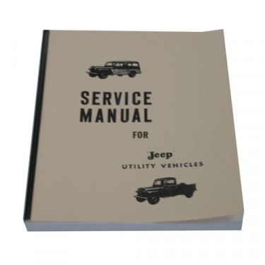 Mechanics (service) Manual Fits 50-64 Truck, Station Wagon