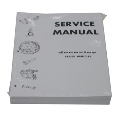 Mechanics (service) Manual Fits 66-73 Jeepster