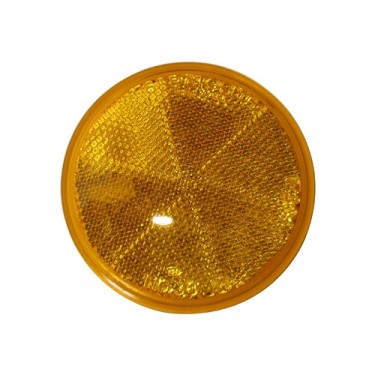 Amber Side Marker Lens reflector, 41-71 Jeep & Willys