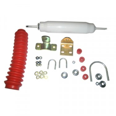 Complete Steering Stabilizer Kit, 41-71 Jeep & Willys