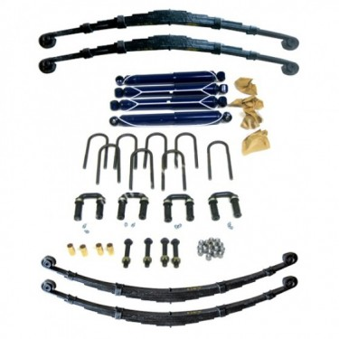Complete Suspension Overhaul Kit,  46-53 CJ-2A, 3A