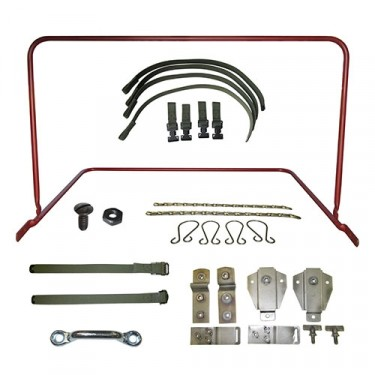 Top Bow Frame Assembly, Bracket & Strap Kit, 50-52 M38