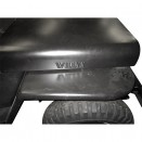 Steel Hood with Willys Logo, 41-53 MB, GPW, CJ-2A, 3A