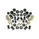 Prothane Complete Polyurethane Kit in Black, 80-86 CJ-5. CJ-7