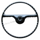 Black Steering Wheel, 50-64 Willys Truck, Station Wagon, Jeepster