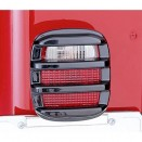 Tail Light Guards in Smoke, 76-86 CJ