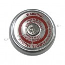 Chrome Fuel Tank Gas Cap, 46-64 Willys