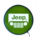 15 Back Lit Jeep Neon Wall Sign