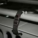 Windshield Tie Down Strap in Black, 76-86 CJ