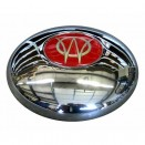 Show Quality Chrome Hub Cap, 46-55 Jeepster, Station Wagon with Planar Suspension