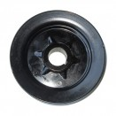 Single Groove Crankshaft Pulley, 41-71 Jeep & Willys with 4-134 engine