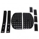 Side Step Kit with Bracket for Both Sides, 46-71 CJ-2A, 3A, 3B, 5, M38, M38A1