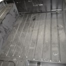 Complete Rear Floor Pan w/ Welded Braces, 46-53 CJ-2A, 3A, 3B