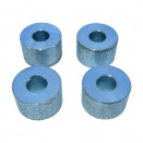 Jerry Can to Body 4-Piece Spacer Kit, 41-71 MB, GPW, CJ-2A, 3A, 3B, 5, M38, M38A1