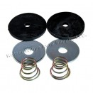 Clutch & Brake Pedal Draft Seal Kit, 41-66 MB, GPW, CJ-2A, 3A, 3B, 5, M38, M38A1