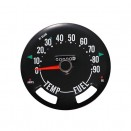 Speedometer Head with Odometer, 0-90 mph, 76-79 CJ-5