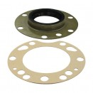 Rear Axle Outer Oil Seal w/Gasket, 46-71 Jeep & Willys with Dana 41/44/53
