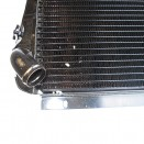 Radiator Assembly - Made in the USA, 66-73 CJ-5, Jeepster with V6-225