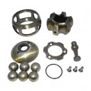 NOS Front Rzeppa Axle Shaft Kit (2 required), 41-71 MB, GPW, CJ-2A, 3A, 3B, 5, M38, M38A1