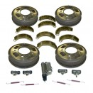 Master Brake Kit 9 Inch, 41-48 Willys & Ford MB, GPW, CJ-2A