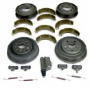 Master Brake Kit 9 Inch, 48-53 Willys CJ-2A, 3A