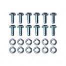 Hood Hinge to Hood Hardware Kit, 52-66 M38A1