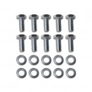Rear Axle Differential Cover Hardware Kit, 41-45 MB. GPW with Dana 27